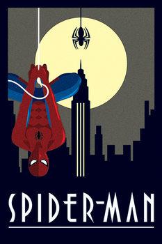 Плакат Marvel Deco - Spider-Man Hanging