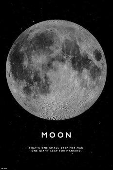 Плакат Moon
