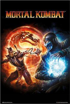 Плакат Mortal Kombat 9