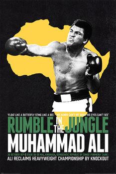 Плакат Muhammad Ali - Rumble in the Jungle