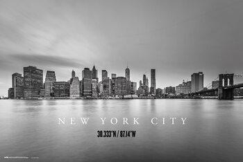 Плакат New York City Skyline