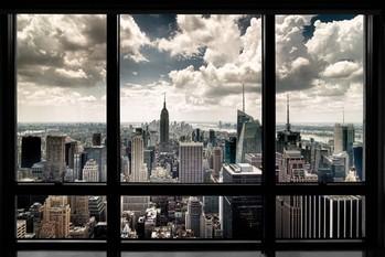 Плакат New York - window