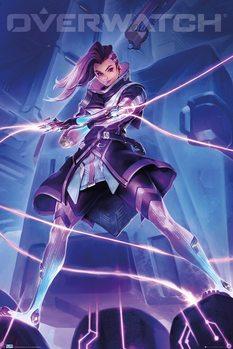 Плакат Overwatch - Sombra