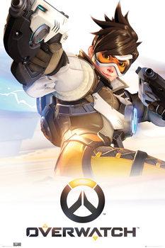 Плакат Overwatch - Tracer