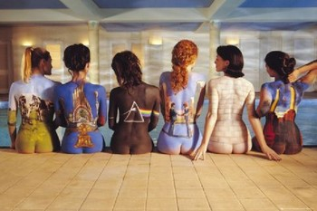 Плакат Pink Floyd - back catalogue