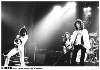 Плакат Queen - Palace Theatre, Manchester