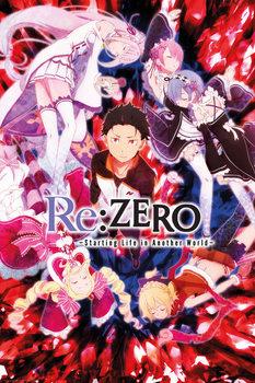 Плакат Re: ZERO - Key Art