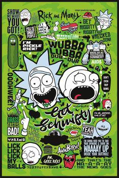 Плакат Rick and Morty - Quotes