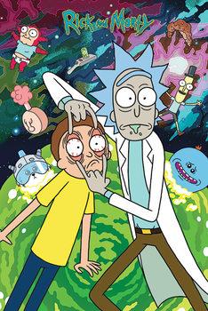 Плакат Rick and Morty - Watch
