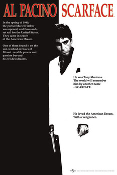 Плакат Scarface - movie