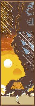 Плакат Star Wars: Episode IV - A New Hope