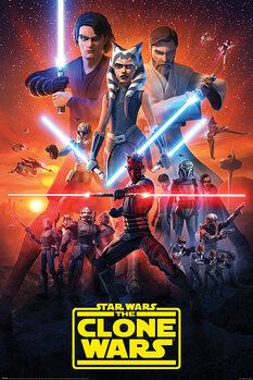 Плакат Star Wars: The Clone Wars - The Final Season