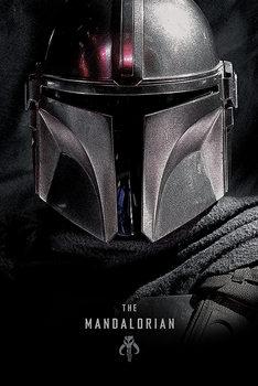Плакат Star Wars: The Mandalorian - Dark