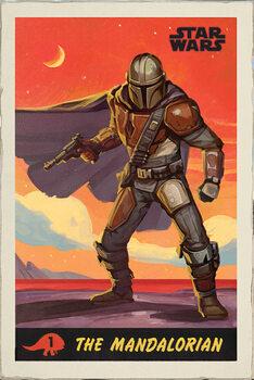 Плакат Star Wars: The Mandalorian - Poster