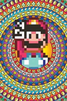 Плакат Super Mario - Power Ups