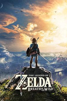 Плакат The Legend Of Zelda: Breath Of The Wild - Sunset