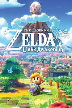 Плакат The Legend Of Zelda - Links Awakening