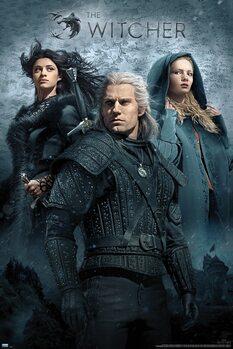Плакат The Witcher - Key Art