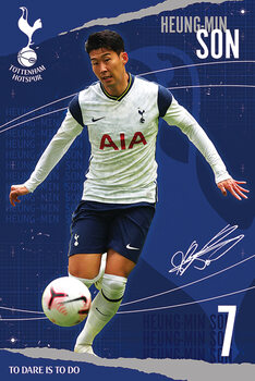 Плакат Tottenham Hotspur FC - Son