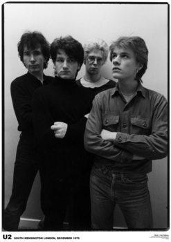 Плакат U2 - London '79