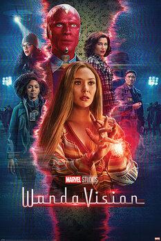 Плакат Wandavision - Reality Rift