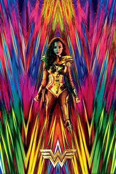 Плакат Wonder Woman 1984 - Neon Static