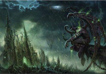 Плакат World of Warcraft - Illidan Stormrage