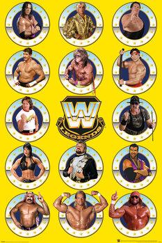 Плакат WWE - Legends Chrome