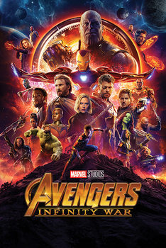 Avengers Infinity War - One Sheet Плакат