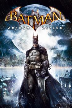 BATMAN ARKAM ASYLUM - batman Плакат