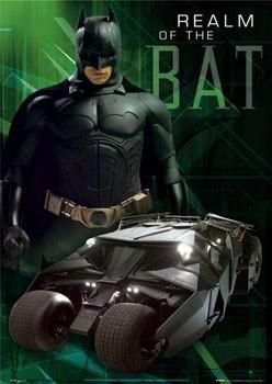 BATMAN BEGINS - realm Плакат