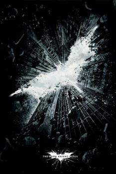 BATMAN DARK KNIGHT RISES - city Плакат