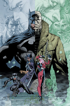 Batman - Hush Плакат
