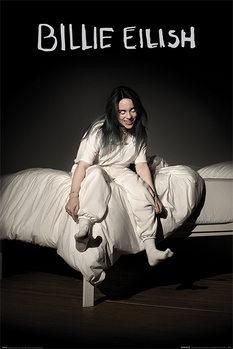 Billie Eilish - When We All Fall Asleep Where Do We Go Плакат