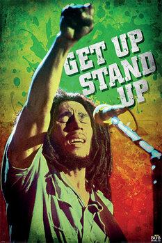 Bob Marley - Get Up Stand Up Плакат
