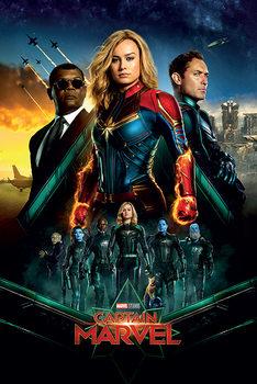 Captain Marvel - Epic Плакат