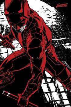Daredevil - Fight Плакат