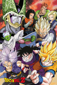 Dragon Ball Z - Cell Saga Плакат