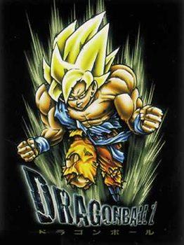 Dragonball Z - Son Goku, blond hair Плакат