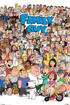 FAMILY GUY - characters Плакат