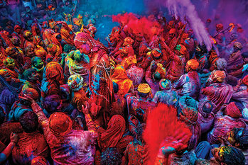 Festival of Colours Плакат