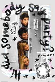Friends - Party Плакат