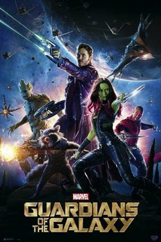 Guardians Of The Galaxy - One Sheet Плакат