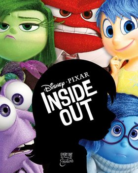 Inside Out - Silhouette Плакат