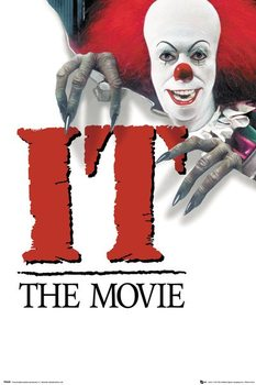 IT - 1990 Key Art Плакат