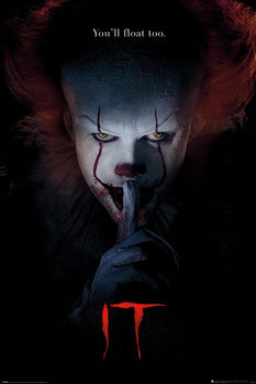 IT - Pennywise Hush Плакат