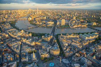 Jason Hawkes - London Evening Плакат