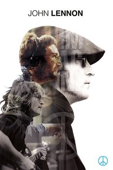 John Lennon - Double Exposure Плакат