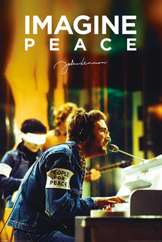 John Lennon - People For Peace Плакат