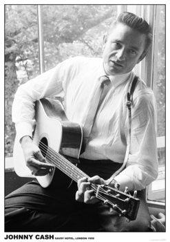 Johnny Cash - #2 Guitar Плакат